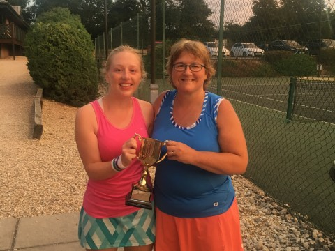 Partner Drawn Ladies Winners 2018
