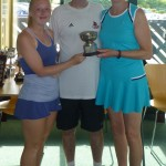 Ladies Doubles - Maria Cotton & Gill Siddall