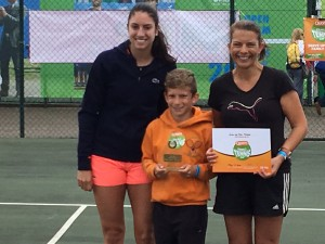 Josh and Alison - our Regional Quorn Family Cup winners!