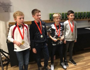 Winning Night for Caunton U9s Orange Ball Team at the Nottinghamshire LTA Awards