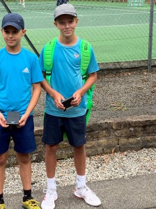 County Champs 2019 U12s Doubles Runners up J.Jarvis and C.Brown (2)